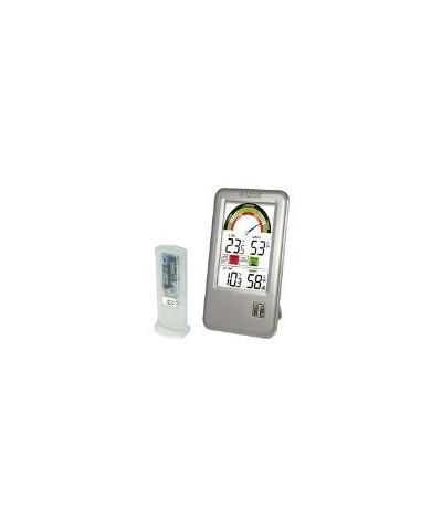 Termómetro e Higrómetro WS9070 color Plata