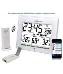 Estación Meteorológica conectada MA10006-WHI Mobile-Alerts