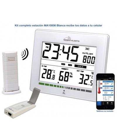 Estación Meteorológica ws9274 conectada MA10006-WHI Mobile-Alerts