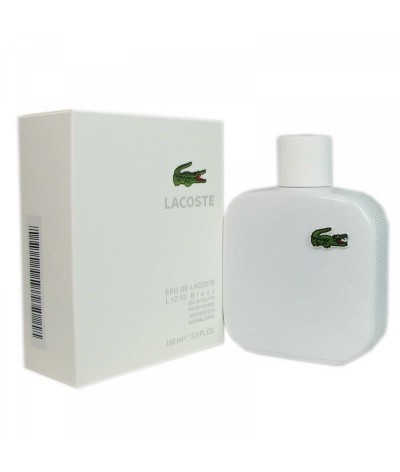 Eau de toilette Lacoste L.12.12 Blanc for Men 100 ml