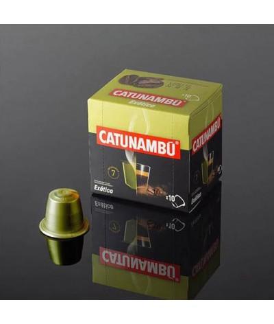 Café en capsulas Catunambu natural