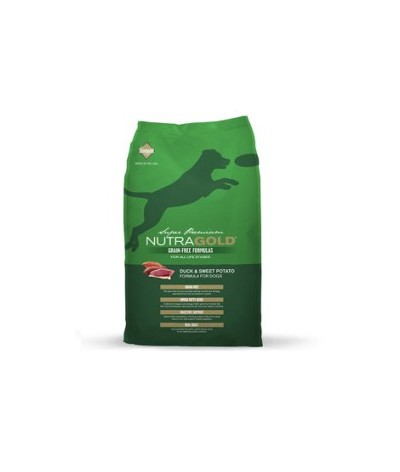Nutragold Grain Free Pato y Papa Dulce 13.6kg