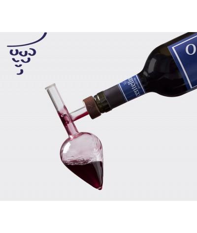 Decantador Aireador de Vino por Copa Centellino