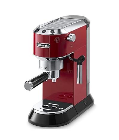 Cafetera espresso EC685M DEDICA COLOR ROJO