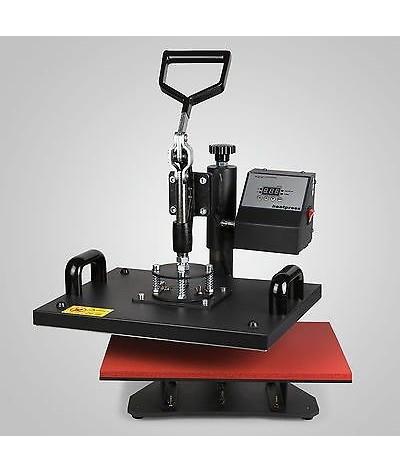 5 en 1 máquina de prensa de calor Digital Transfer y sublimación