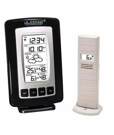 Unidad de Previsión del tiempo WS7027 Negra - Plata La Crosse Technology