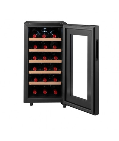 Cava de vinos negra 18 botellas Climadiff CC18