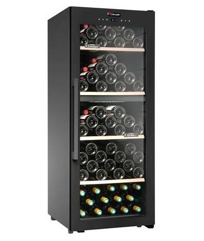 Cava vinos negra 110 botellas Climadiff CD110B1