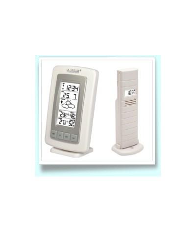 Unidad de Previsión del tiempo WS7027 Blanca - Plata La Crosse Technology