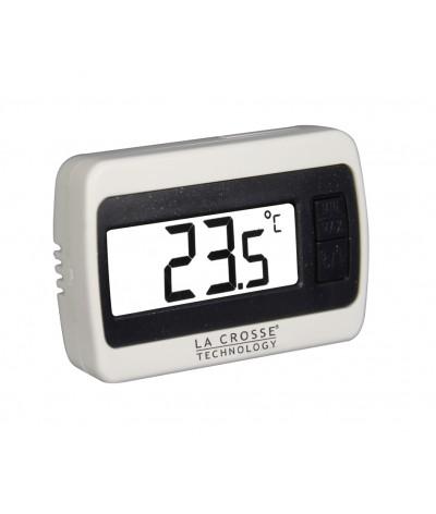 Termometro digital WS7002 La Crosse Technology blanco con negro