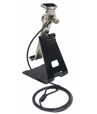 Porta tableta metálica  sistema anti robo Reflecta 23227