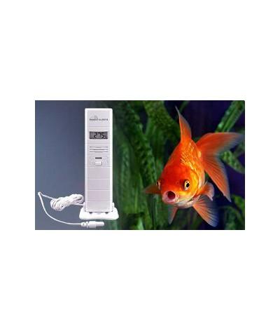 Captor de temperatura e higrometría MA10300  LCD conectado Mobile-Alerts
