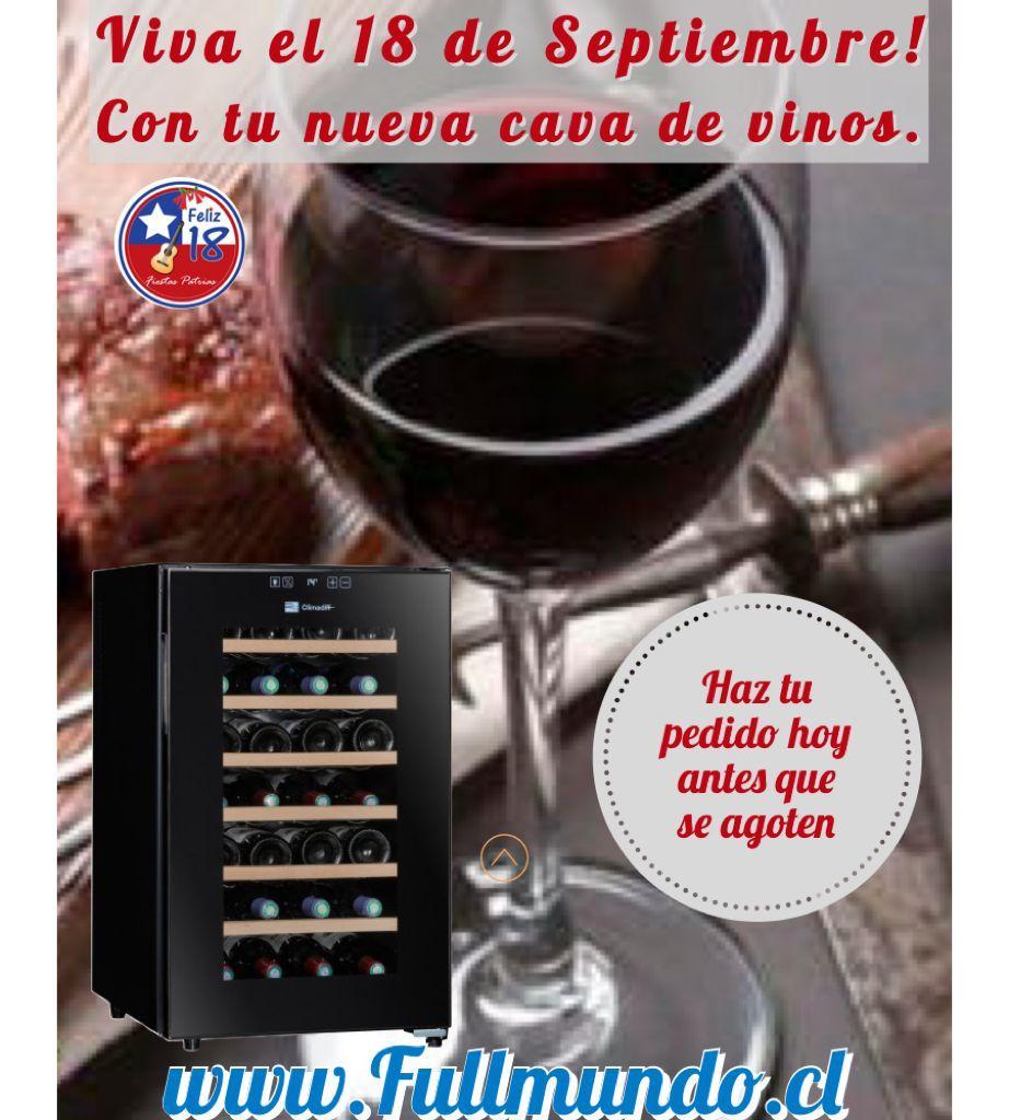 Viva el 18 de septiembre con la nueva cavas para vinos - Fullmundo